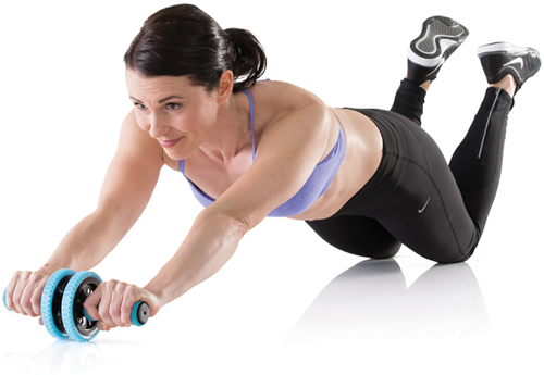 Gymstick Active Workout roller - Met Online Trainingsvideo's-2