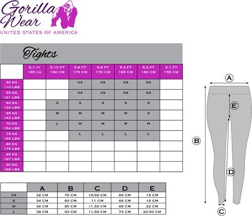 Gorilla Wear Women's Mississippi Tights-3