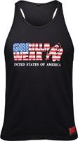 Gorilla Wear USA Tank Top - Zwart