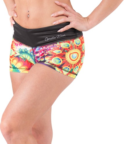 Gorilla Wear Venice Shorts - Multi Color Mix