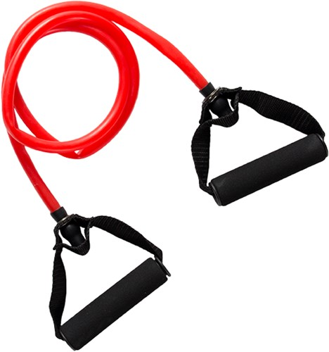 VirtuFit Weerstandkabel met Handvat - Medium (Fitness Elastiek)