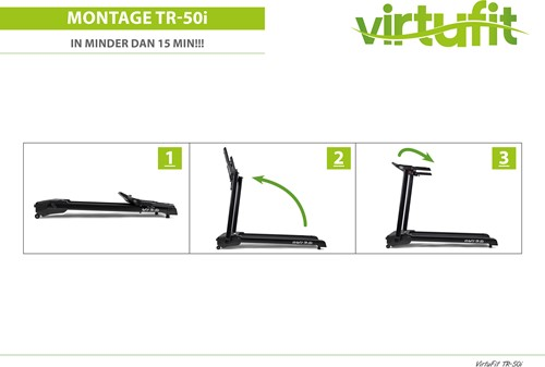 VirtuFit Totally Foldable TR-50i Loopband-3