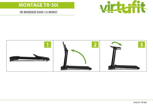 VirtuFit Totally Foldable TR-50i Loopband - Gratis trainingsschema-3