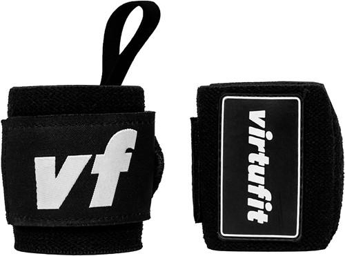 VirtuFit Elastische Wrist Wraps - Zwart