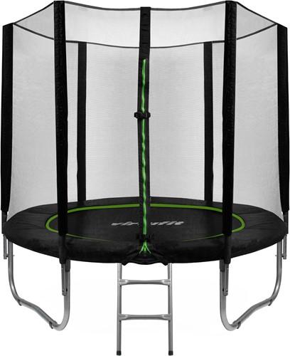 VirtuFit Trampoline met Veiligheidsnet - Zwart - 305 cm