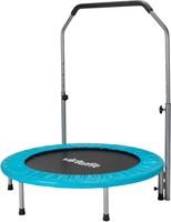 VirtuFit Fitness Trampoline Pro met Verstelbaar Handvat - 100 cm - Blauw