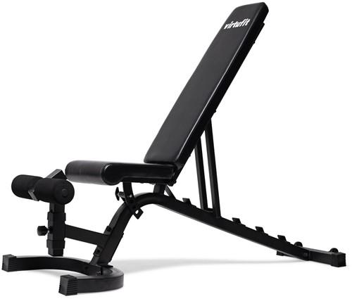 VirtuFit Verstelbare Fitnessbank Pro - Zwart