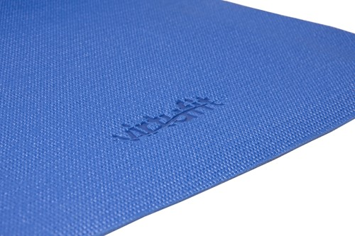 VirtuFit Yogamat met Draagkoord Blauw-2