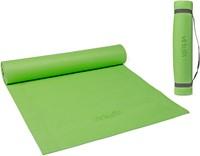 VirtuFit Yogamat - Fitnessmat - Met Draagkoord - 183 x 61 x 0.3 cm - Lichtgroen