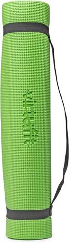 VirtuFit Yogamat met Draagkoord Groen Staand