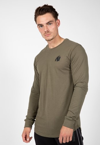 Gorilla Wear Williams Longsleeve - Legergroen - XL
