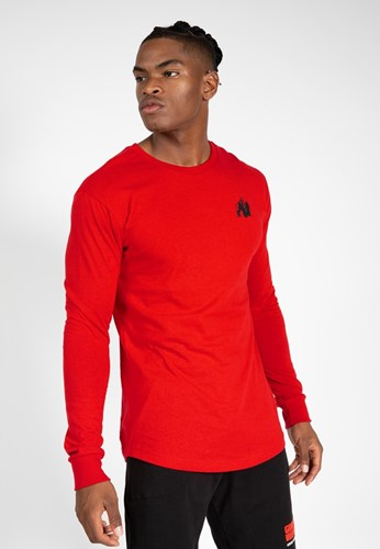 Gorilla Wear Williams Longsleeve - Rood - L