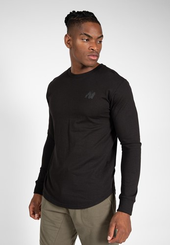 Gorilla Wear Williams Longsleeve - Zwart - S