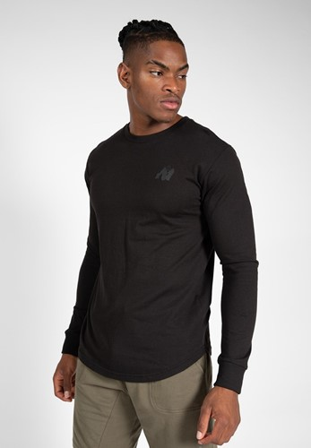 Gorilla Wear Williams Longsleeve - Zwart - XL