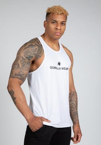 Gorilla Wear Carter Stretch Tank Top - Wit