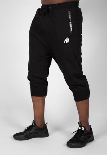 Gorilla Wear Knoxville 3/4 Joggingbroek - Zwart