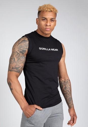 Gorilla Wear Sorrento Mouwloos T-shirt - Zwart