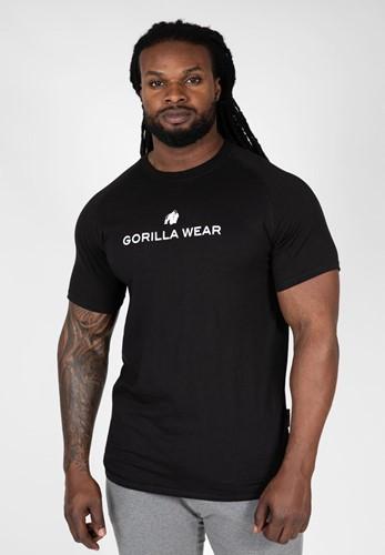 Gorilla Wear Davis T-shirt - Zwart