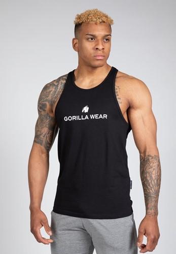 Gorilla Wear Carter Stretch Tank Top - Zwart