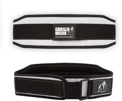 Gorilla Wear 4 Inch Dames Lifting Belt - Zwart / Wit
